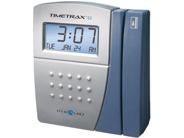 Pyramid Technologies TTEZ Serial/USB Swipe Card Time Clock System