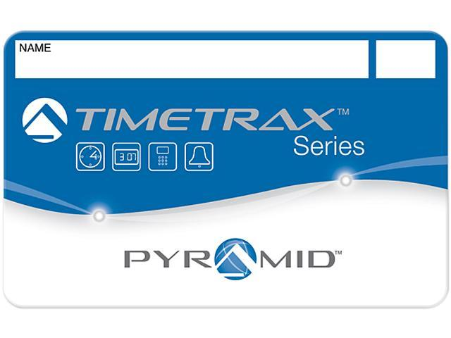Pyramid 41302 Swipe Card Badges for TimeTrax Time & Attendance Systems 1-25