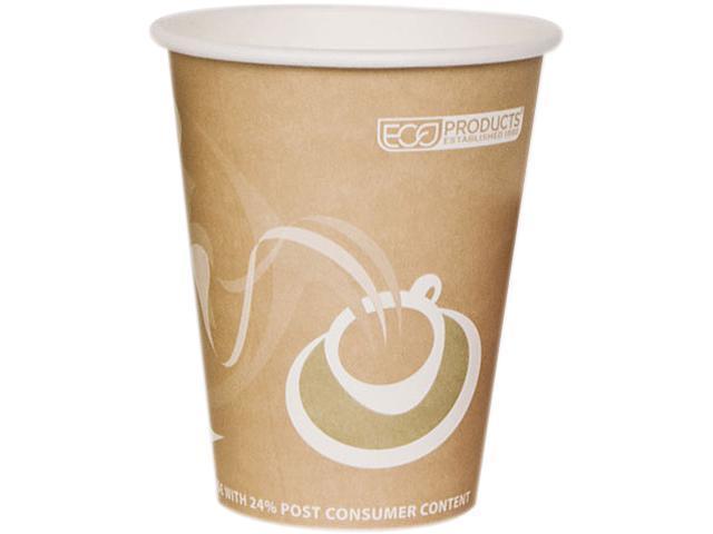Eco-Products EP-BRHC8-EW 8 oz Evolution PCF World Hot Cups - Peach - 1000/Carton