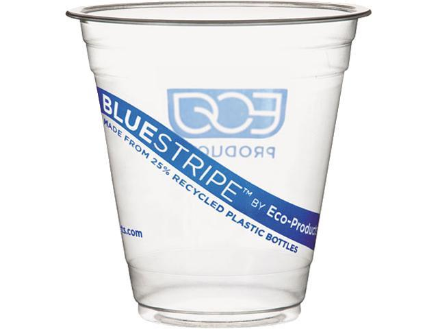 Eco-Products EP-CR9PK 9 oz BlueStripe Cold Cups - 50/Pack