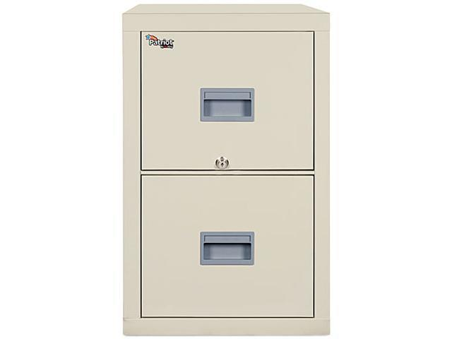 FireKing 2P1831CPA Patriot Insulated 2-Drawer Fire File, 17-3/4w x 31-5/8d x 27-3/4h, Parchment
