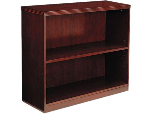 Mayline BC3629C Luminary Series Two-Shelf Bookcase, 34 5/8w x 12d x 29h, Cherry