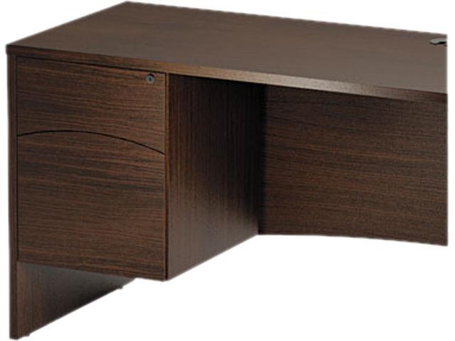 Mayline BTBF20LDC Brighton Series Suspended Box/File Pedestal, 15¾w x 19 1/2 d x 20h, Mocha