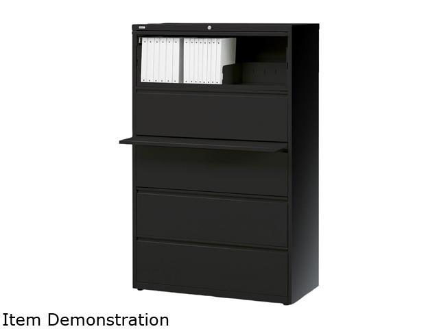 Realspace Pro (19066) Steel Lateral File, 5-Drawer, 67 5/8