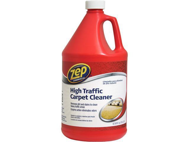Zep ZUHTC128 High Traffic Refill Carpet Cleaner, 1gal, Red