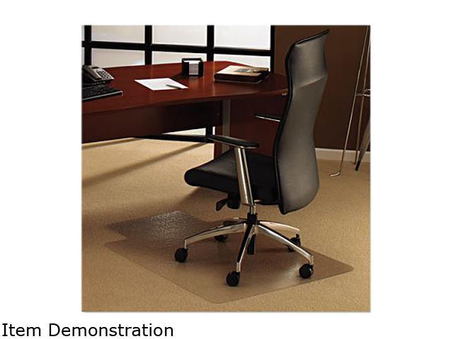 Floortex 1113427LR ClearTex Ultimat Polycarbonate Chair Mat For Plush Pile Ca
