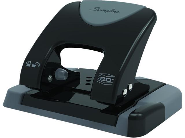 Swingline A7074135 SmartTouch 2-Hole Punch, Reduced Effort, 20 Sheets
