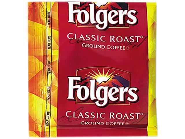 Folgers 2550006125 Classic Roast, 0.9oz. Fractional Packs, 36/Carton
