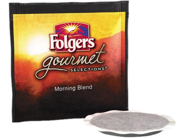 Folgers FOL-63104 Gourmet Selections Coffee Pods, Morning Blend, 18/Box