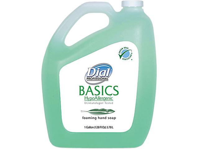Dial 1700098612 Dial Basics Foaming Hand Wash, Original Formula, Fresh Scent, 1 Gallon Bottle