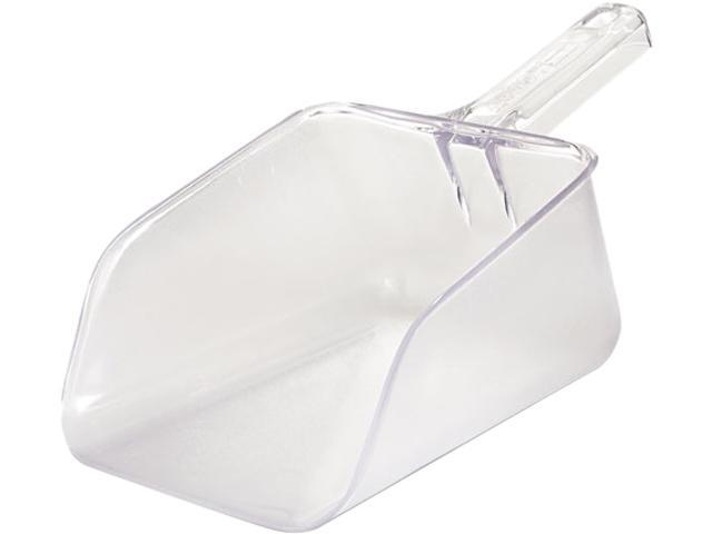 Rubbermaid Commercial RCP 2886 CLE Bouncer Bar/Utility Scoop, 64oz, Clear