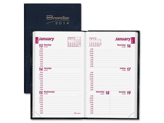 Brownline Weekly Pocket Planner