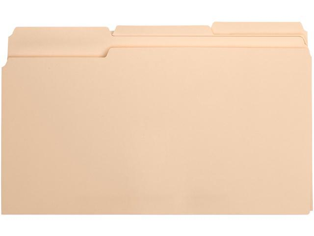 Business Source 17526 Top Tab File Folder - 8.50