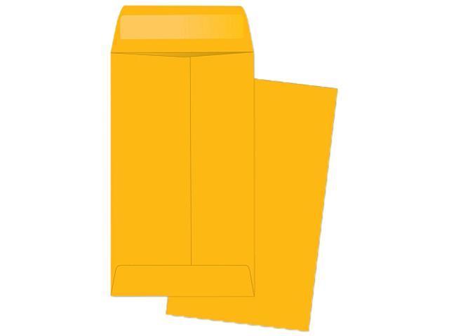 Business Source 04445 Little Coin Kraft Envelope, #6 Size, 28lb Brown Kraft, 500/Box