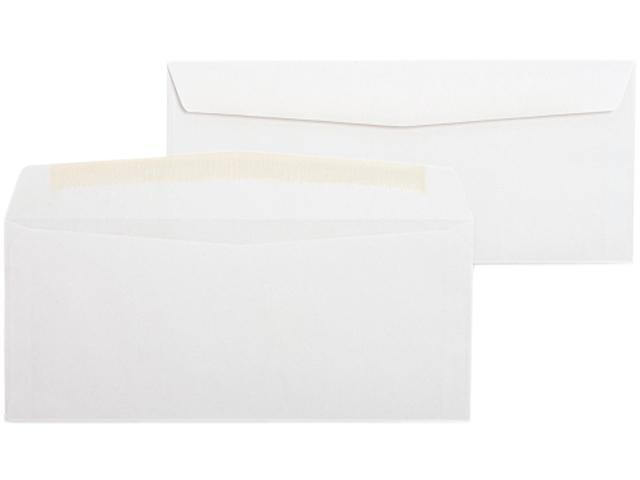 Business Source 04465 White Wove Side-seam Bus. Envelopes