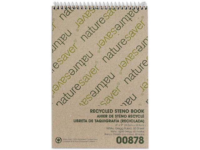 Nature Saver 00878 Recycled Steno Book