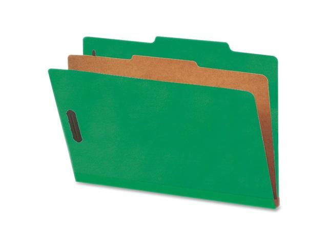 Nature Saver SP17222 Cleared Top-tab 1-Divider Classification Folder