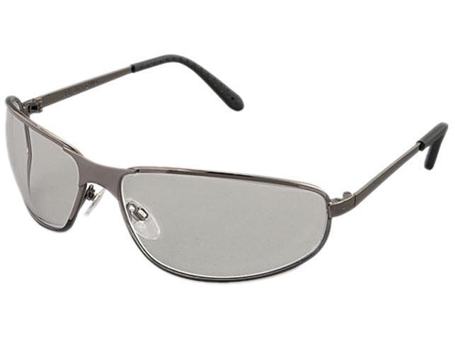 Uvex 763-S2450 Tomcat Safety Glasses, Gun Metal Frame, Clear Lens