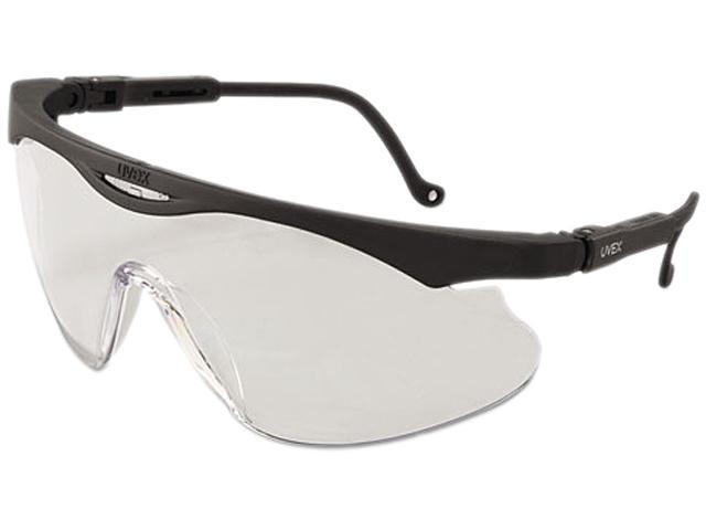 Uvex 763-S2810 Skyper X2 Safety Spectacles, Black Frame