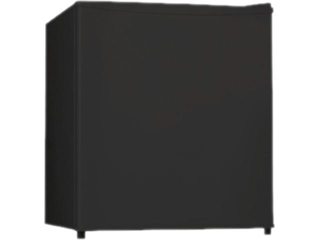 Lorell 1.6 Cubic Feet Compact Refrigerator 1.60 ft³ - Manual Defrost - Black