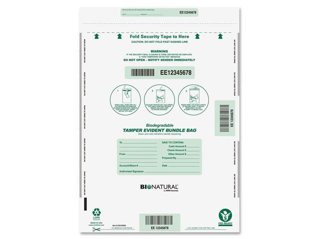 MMF Industries 234126520 Bio-Natural Bundle Bags, 15 x 20, Clear, 50 per Pack
