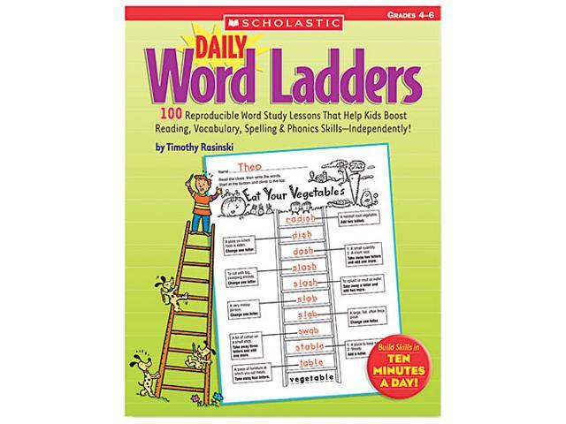 Scholastic 0439773458 Daily Word Ladders, Grades 4-6, 112 Pages