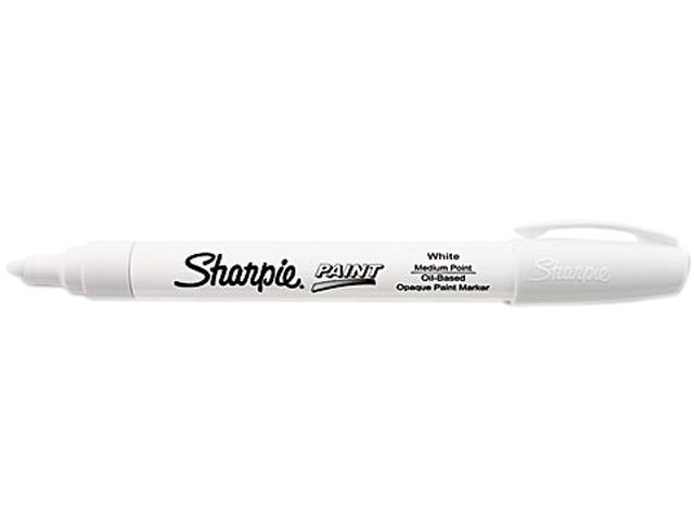 Sharpie 35558 Paint Marker, Medium, White