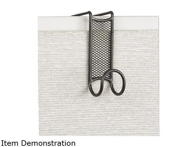 Safco 4229BL Onyx Panel/Door Coat Hook, Steel