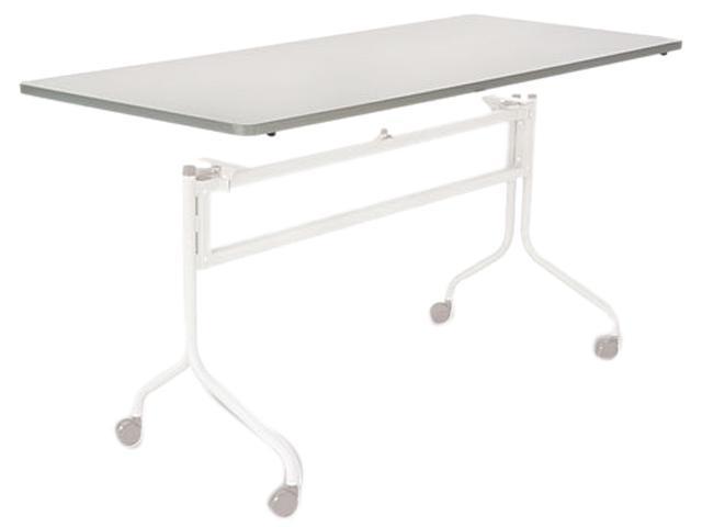 Safco 2067GR Impromptu Mobile Training Table Top, Rectangular, 72w x 24d, Gray