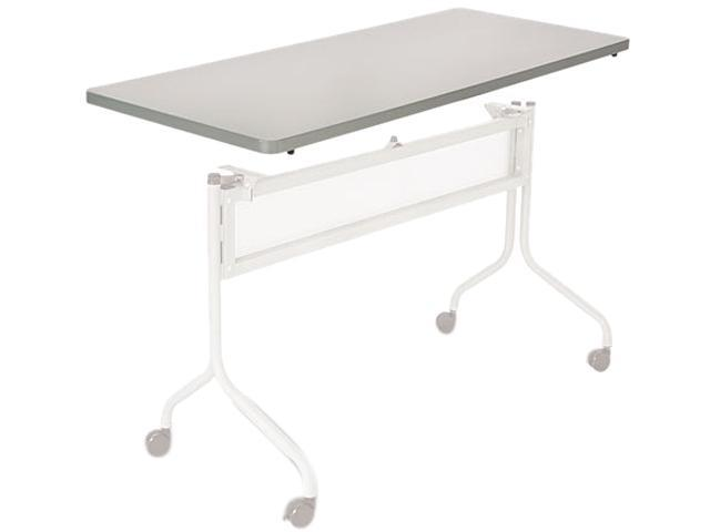 Safco 2065GR Impromptu Mobile Training Table Top, Rectangular, 48w x 24d, Gray