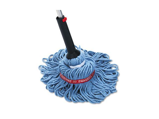 Rubbermaid Commercial 6A88-00 Self-Wringing Ratchet Twist Mop, Blended Yarn Head, 54 Handle