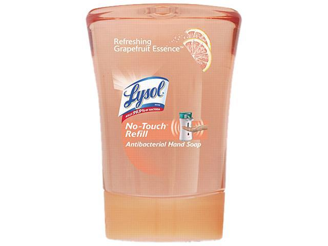 LYSOL HEALTHY TOUCH 00066 Hand Soap Refill, 8.5 oz, Refreshing Grapefruit