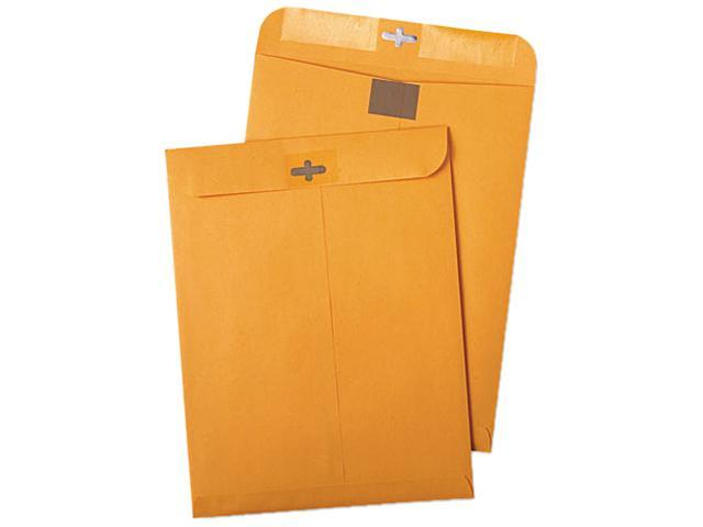 Postage Saving ClearClasp Kraft Envelopes 9 x 12 Brown Kraft 100/Box