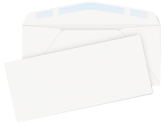 Quality Park 11286 Laser & Inkjet Envelope, Traditional, #10, White, 125/Box
