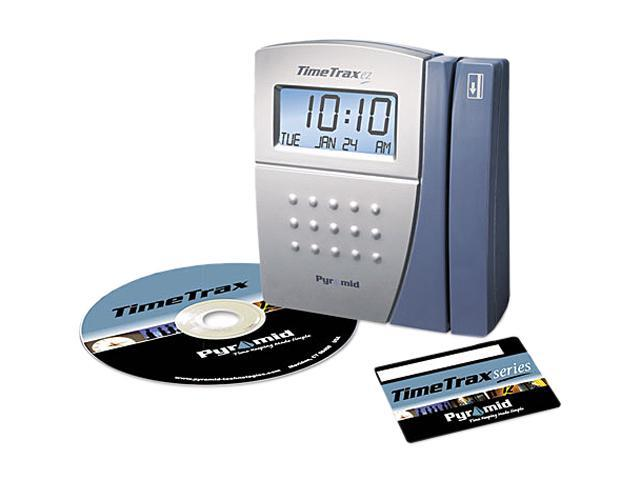 Pyramid Time Trax EZ Ethernet Time and Attendance System, 5 7/10 x 5 x 2