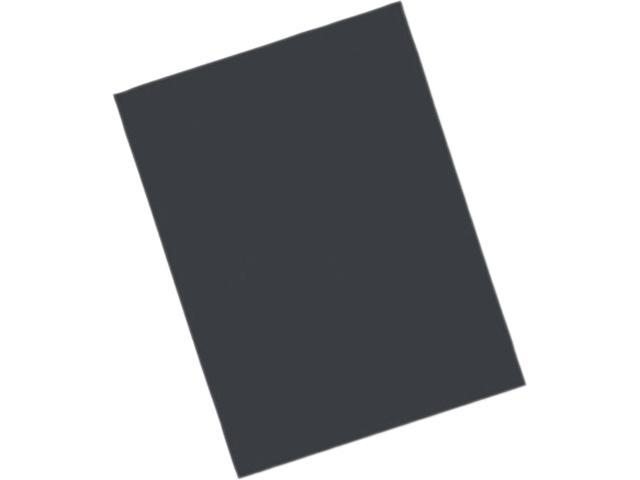 Pacon 103472 Riverside Construction Paper, 76 lbs., 18 x 24, Black, 50 Sheets/Pack