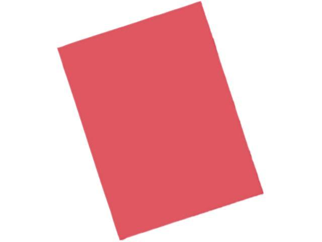 Pacon 103455 Riverside Construction Paper, 76 lbs., 12 x 18, Red, 50 Sheets/Pack