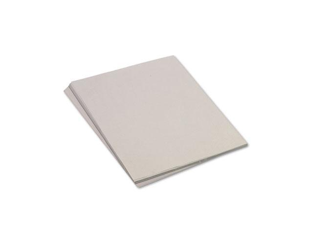 Pacon 103091 Tru-Ray Construction Paper, 76 lbs., 18 x 24, Pearl Gray, 50 Sheets/Pack