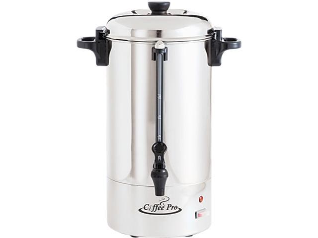 Coffee Pro CP36 36-Cup Percolating Urn, Stainless Steel
