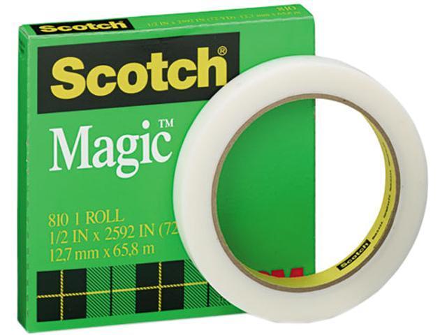 Scotch 810-12-2592 Magic Office Tape, 1/2