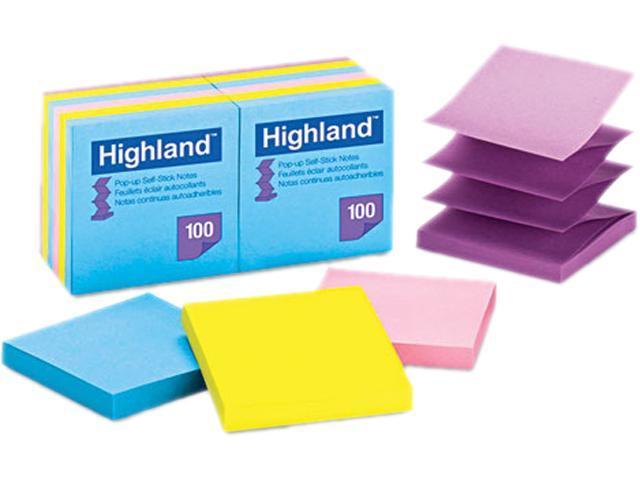 Post-it 6549-PUB Pop Up Memo Pad, 3 x 3, 100 Sheets