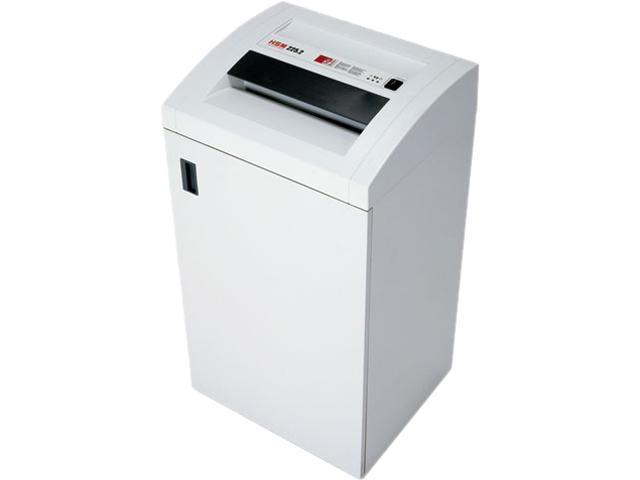HSM of America 1343 225.2cc Office Heavy-Duty Cross-Cut Shredder, 27 Sheet Capacity