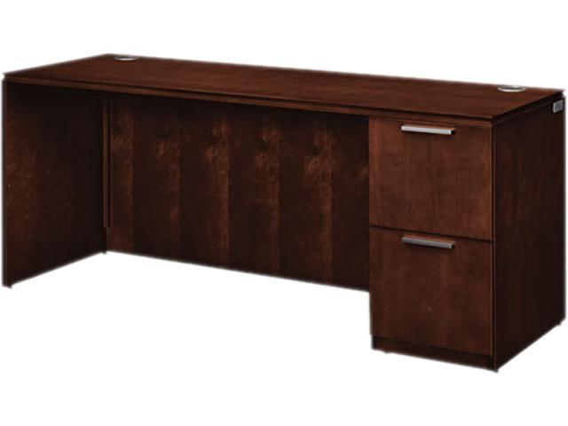 HON VW271RC1Z9FF Arrive Single Pedestal Credenza, Right, 72w x 24d x 29-1/2h, Shaker Cherry