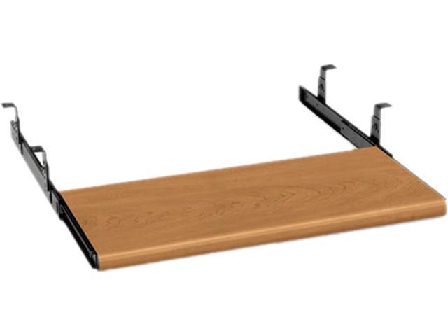 HON 4022C Slide-Away Keyboard Platform, Laminate, 21-1/2w x 10d x 1-1/8h, Harvest