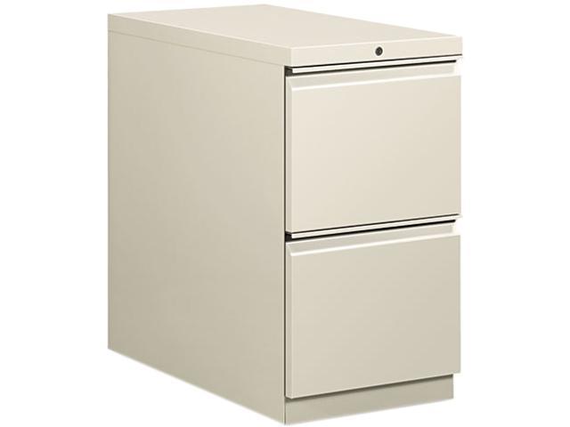 HON 18830RQ Flagship Mobile File/File Pedestal, Full Radius Pull, 28-7/8d, Light Gray