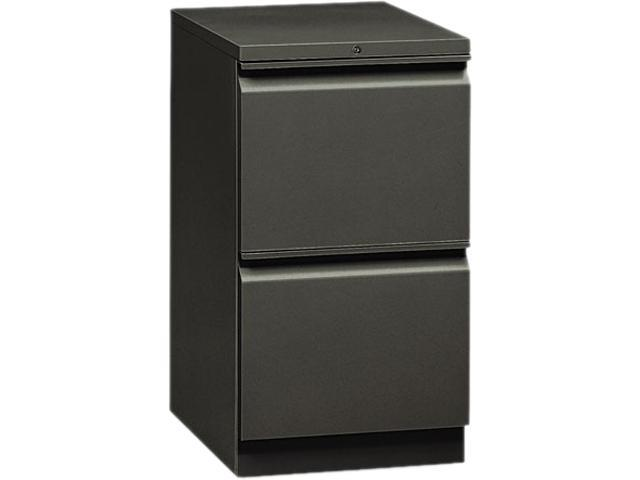 HON 18820RS Flagship Mobile File/File Pedestal, Full Radius Pull, 19-7/8d, Charcoal