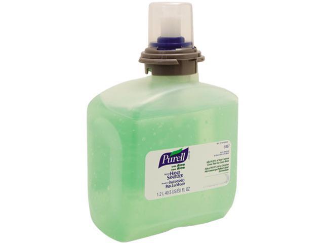 PURELL 5457-04 TFX Gel Instant Hand Sanitizer Refill w/Aloe, 1200-ml