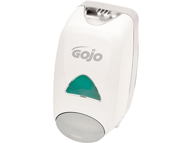 GOJO 5150-06 Liquid Foaming Soap Dispenser, 1250ml, 6-1/8w x 5-1/8d x 10-1/2h, Gray/White