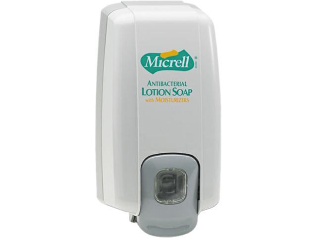 GOJO 2125-06 MICRELL NXT Lotion Soap Dispenser, 1000ml, 5-1/8w x 3-3/4d x 10h, Dove Gray