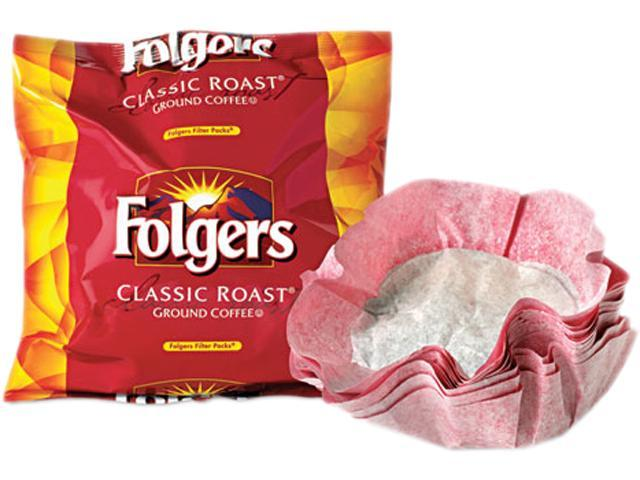 Folgers 06239 Coffee Filter Packs, Classic Roast, .9 oz, 40/Carton